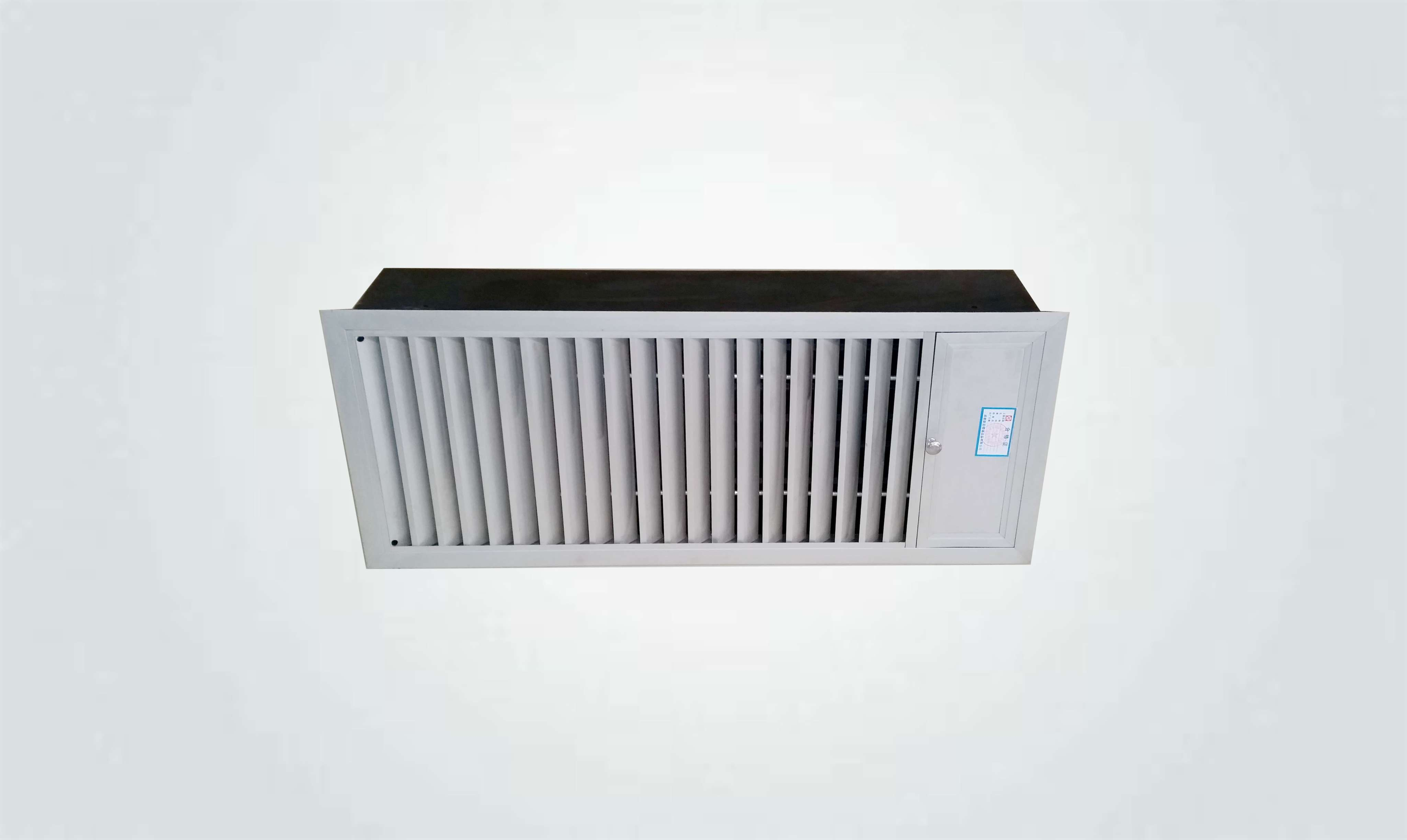 性能简介 : xl-ypf多叶送风口(正压送风口)平时常闭,输入dc24v电信号